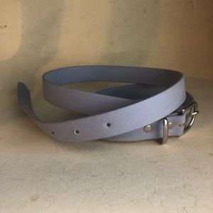 H&M Periwinkle Belt